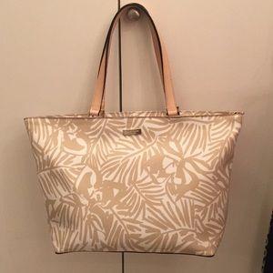 "Kate Spade tote bag 14"" w x 12"" high"